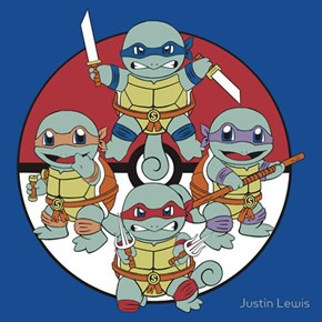 Squirtle Power!