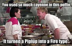 Gordon Ramsay Doesn't Like Mixing the Types