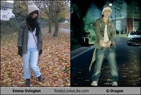 Emma Ovington Totally Looks Like G-Dragon