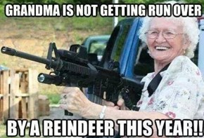 Don't Even Try to Mess With Grandma This Christmas