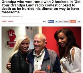 So Close, Gramps. So Close.