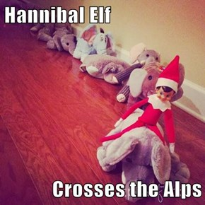 Hannibal Elf  Crosses the Alps