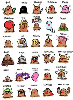 Diglett Wednesday: The Many Lives of Diglett