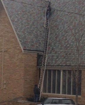 A Lot of Faith for One Ladder. Wait, Two Ladders.