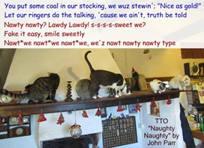 """Nawty Kitties"" (TTO ""Naughty Naughty"" by John Parr)"