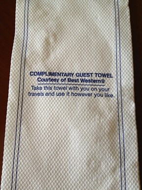 Best Western Knows What We All do at Hotels