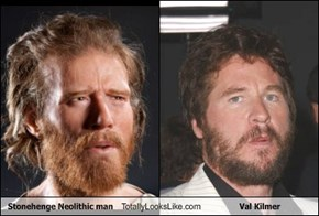 Stonehenge Neolithic Man Totally Looks Like Val Kilmer