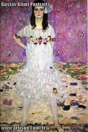 Gustav Klimt Portraits  www.artisoo.com/fr/