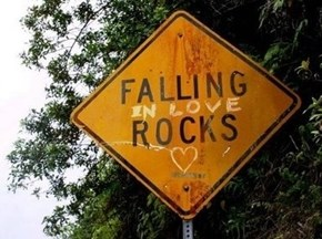 Falling ON Rocks, on the Other Hand...