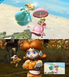 Rosalina's stealing Daisy's thunder.