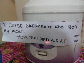 The Curse Of The Rice