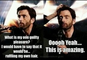 Tennant's Got His Priorities in Order