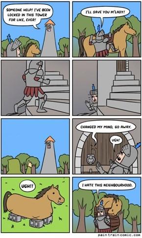 It's a Hard Knight