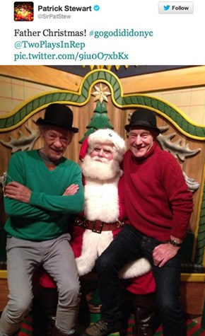 Patrick Stewart and Ian McKellen Are Always Having More Fun Than You