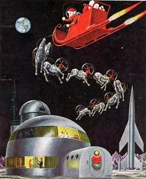 Sci-Fi Santa