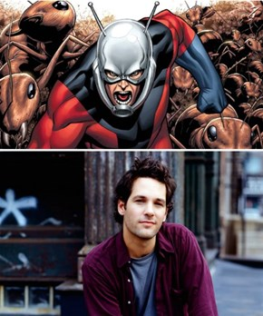 Paul Rudd Is Ant-Man