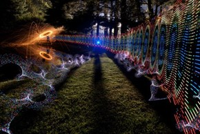 There's No Photoshop Here, Only Photography Tricks and Light Painting Skills