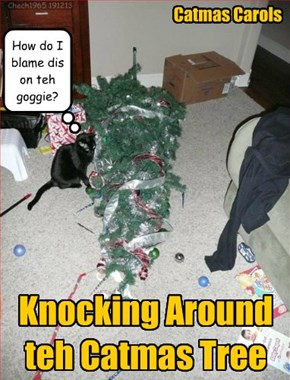 I Think Goggie is Under the Tree...