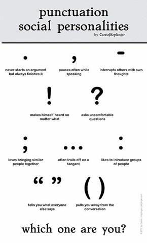Punctuation Social Personalities