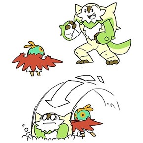 Hawlucha Might Be Small But He's Strong