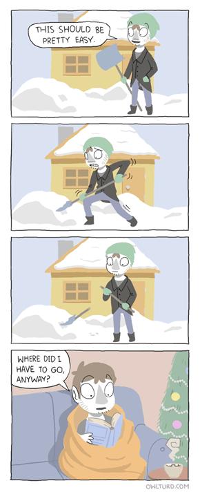 I Got Snow Problems