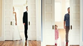 Feel-Good Story of the Day: Husband Recreates Wedding Photos With Daughter in Honor of His Deceased Wife