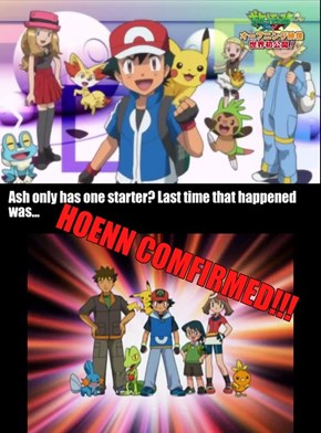 Ash Only Has One Starter Pokémon?