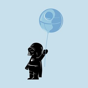 Baby Vader Hasn't Yet Reached the Dark Side