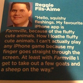 Reggie's New Ability