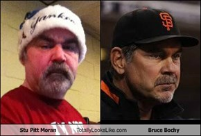 Stu Pitt Moran Totally Looks Like Bruce Bochy