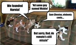 De Bwave Explowah Kittie Klub returns from the depths of the sofa