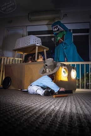 This Family Recreates Classic Movie Scenes With Household Objects...