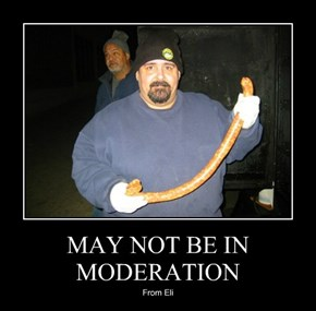 MAY NOT BE IN MODERATION