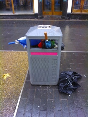 A Windy Day in the UK