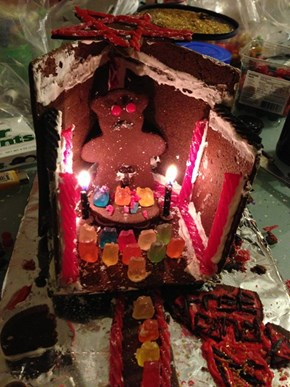YOU CANNOT CATCH ME, FOR I AM THE UNHOLY GINGERBREAD GOD