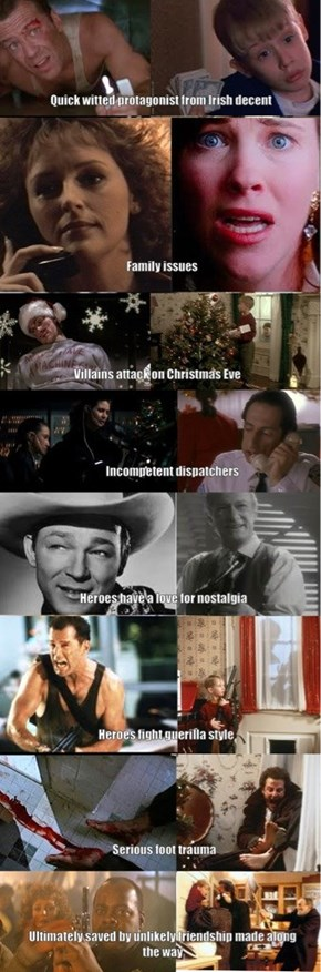 Home Alone is Die Hard for Kids