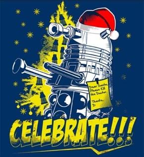 Santa's A Dalek