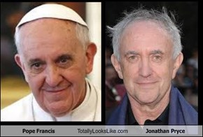 Pope Francis Totally Looks Like Jonathan Pryce