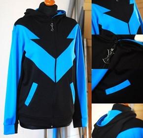 Nightwing Handmade Hoodie