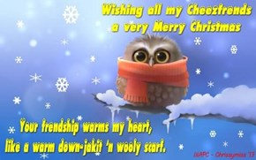 Merry Chrissymiss to all my great frends!
