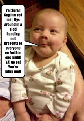 What Baby's really think!