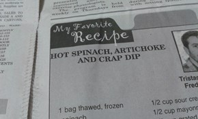 Dip, an synonym for crap.