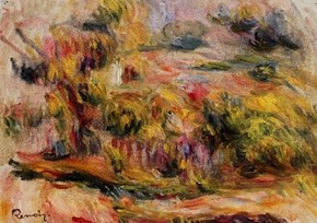 Reproductions: Landscape 1919 by Pierre Auguste Renoir