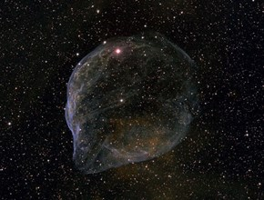 A Giant Cosmic Bubble