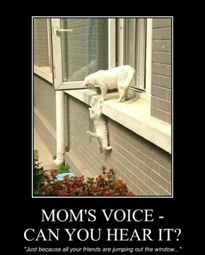 MOM'S VOICE - CAN YOU HEAR IT?