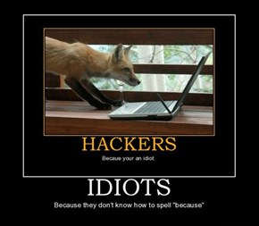 Beware the Misspelling Hackers