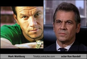 Mark Wahlburg Totally Looks Like actor Ron Randell