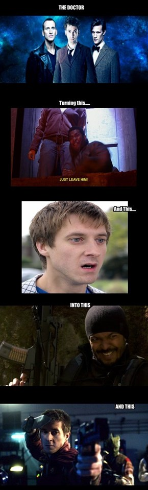 The Doctor Turns Boys Into Badasses