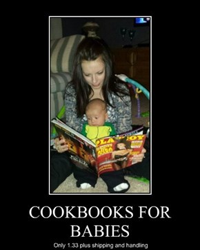 COOKBOOKS FOR BABIES