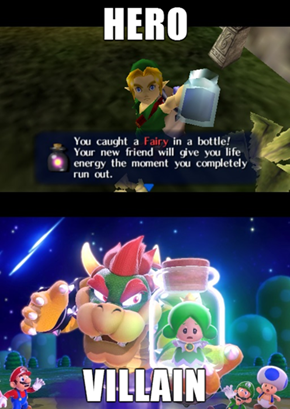 Nintendo Double Standards